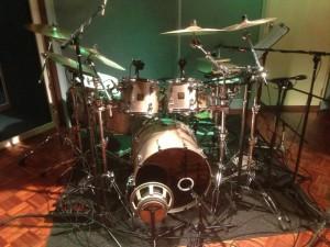 Drums in studio